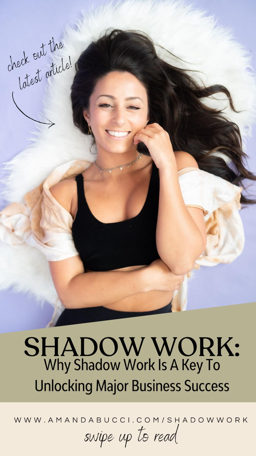 shadow work amanda bucci